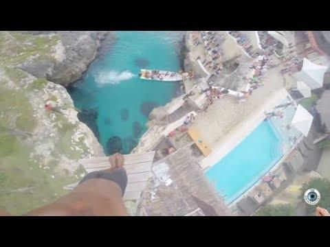 World's Craziest Jumps into Water!! People Are Awesome 2017!