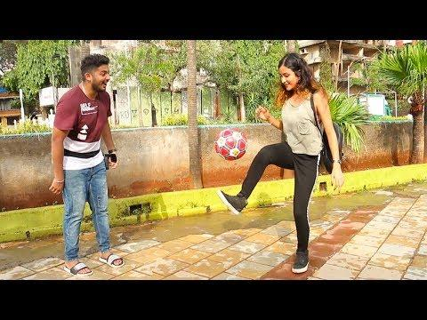 Football Challenge With Girls | Baap of bakchod - Raj | Fifa World Cup 2018