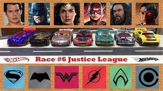 Race #6 | Justice League Series | Hot wheels 2017