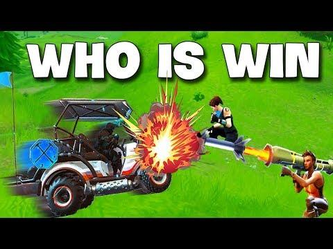 Bumping a Guided Missile  With a Golf Cart ► Fortnite Funny and WTF Moments Ep.112