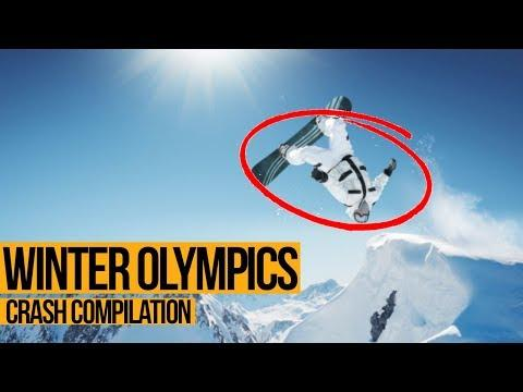 WINTER OLYMPICS - Unbelievable Crashes Compilation (HD)