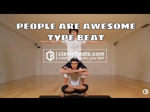 PEOPLE ARE AWESOME TYPE BEAT 2018 | VLOGG TYPE BEAT 2018 BMX MARTIAL ARTS (PROD. CLAVIN BEATS)