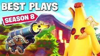 New SEASON 8 Best Plays  ► New Fortnite #129