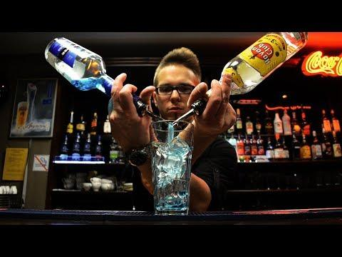 Amazing Fastest Bartender Skills - People Are Awesome Fast Workers Compilation