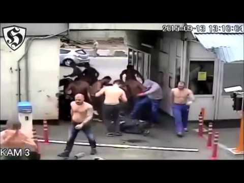 Russia Hooligans Fight : Dynamo Moscow Vs Spartak Moscow