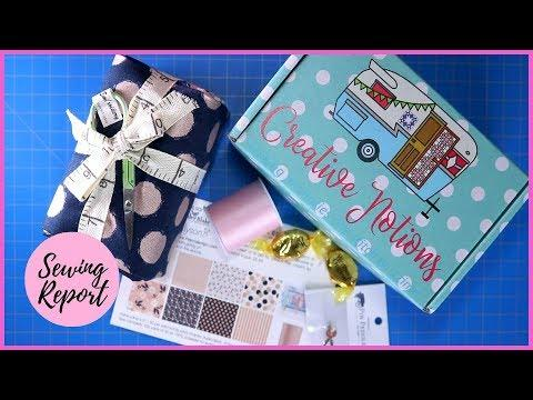 Creative Notions Subscription Box ???? Unboxing + Review | SEWING REPORT