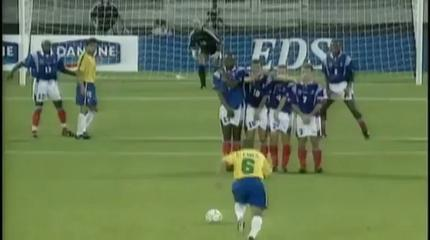 Roberto Carlos Vs Physics Roberto  Carlos Scored This Free Kick 17 Years Ago  Still Considered As On