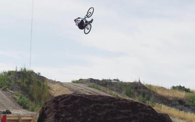 Nitro Circus Presents First Triple Backflip On A Mountain Bike - MTB