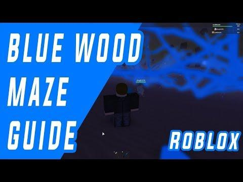 Blue wood Maze Road guide map(01-07-2018)Lumber Tycoon 2 Roblox