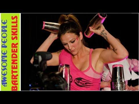 Amazing Bartender Skills - People Are Awesome World's Fastest Bartenders Satisfying Video