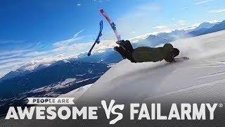 Best Wipeouts of 2018 | People Are Awesome Vs. FailArmy