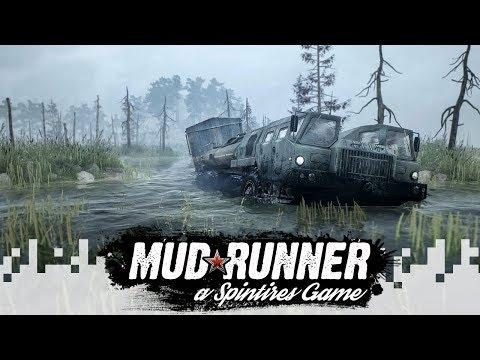DOWNHILL? - SPINTIRES: MUDRUNNER (Multiplayer Gameplay) - EP08